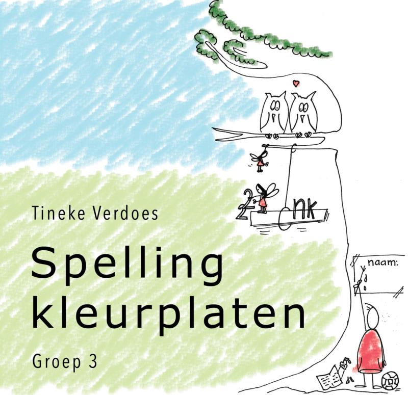 Spellingkleurplaten – Groep 3